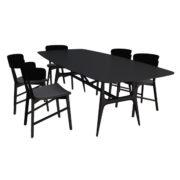 Table + chairs MisuraEmme